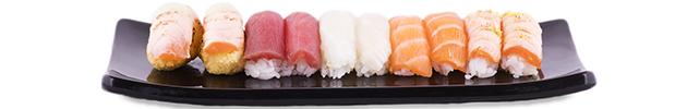 Nigiris, sashimis y geishas