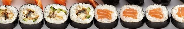Fly maki rolls