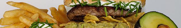 Hamburguesas gourmet 100% de carne premium (180 gramos casera)