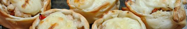 Canastitas y empanadas artesanales al horno (6 mínimo para envío)