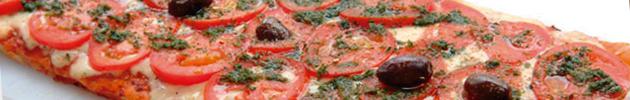 Pizzas a la parrilla (12 porciones)