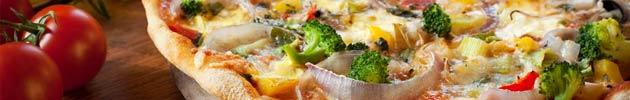 Pizzafainá vegetariano (tortilla fainá hecha con harina de garbanzos)