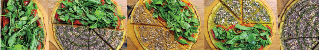 Super pizzas proteicas