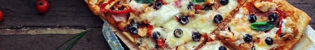 Pizzas especiales (6 porciones)