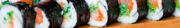 Makis (alga nori por fuera)