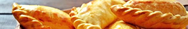 Empanadas premium con masa casera