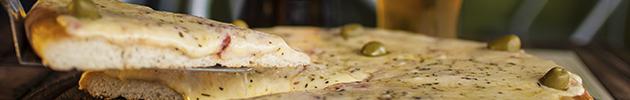 Pizzas al molde (8 porciones)