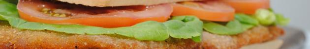Un pasaje rápido para picar con un sándwich