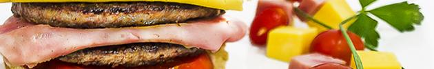 Sándwiches de hamburguesa