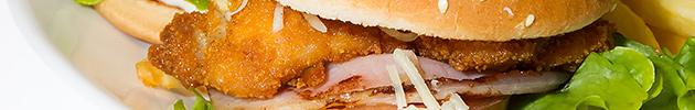 Sandwich de milanesas gigantes