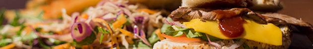 Sándwiches de lomito gourmet
