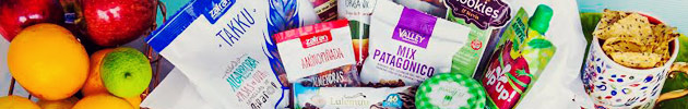 Packs de snacks saludables