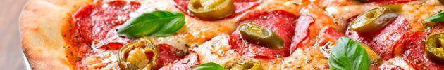 Pizzas (nuestras pizzas son al molde o a la piedra, de elaboración 100% casera )