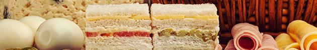 Sándwiches simples (corte grande)