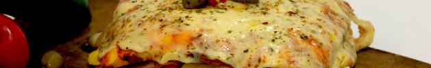 Hamburpizzas rellenas para compartir