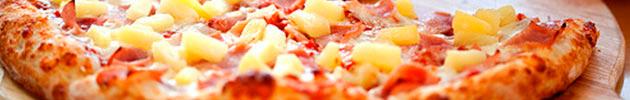 Pizzas con jamón
