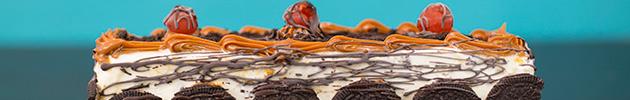Postres y tortas heladas