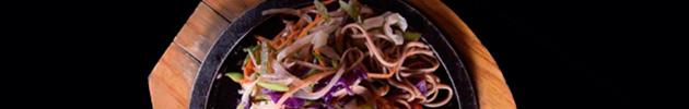 Fideos al wok
