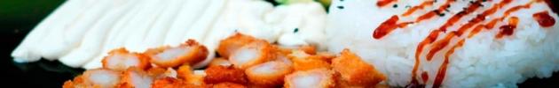 Promoción sushi salads