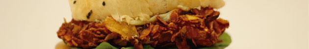 Burgers de pollo frito