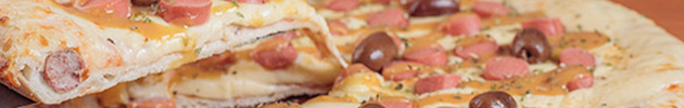 Pizzetas con borde relleno