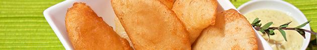 Empanadas venezolanas fritas