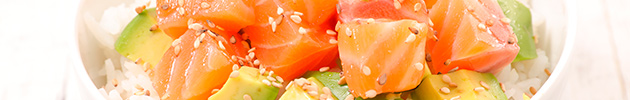 Sushi salads