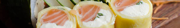 Sushi rolls especiales