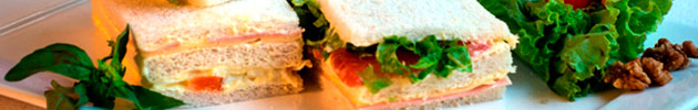 Sándwiches triples