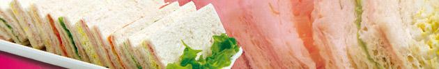 Sándwiches triples tradicionales