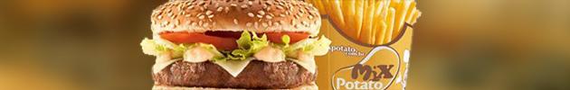 Combos mix burger