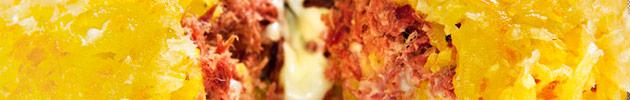 Mandioca rostie