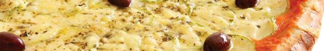 Pizas com queijos
