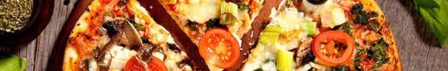 Pizzas com pescados
