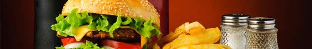 Promoção - Hambúrguer + refrigerante + batata frita