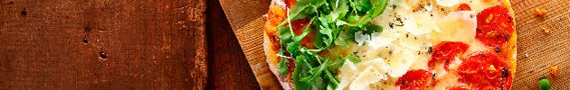 Pizzas pequenas (25 cm)