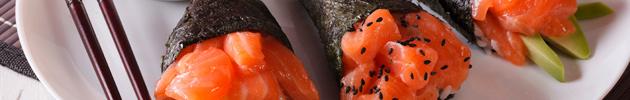 Temakis salmão