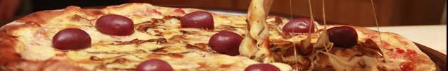 Pizzas salgadas (broto)