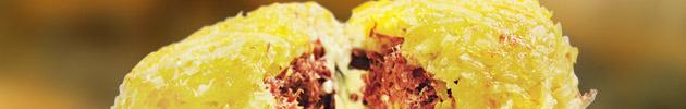 Batata ou mandioca suíça
