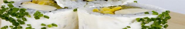 Envueltos en queso crema