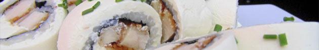 Cream rolls (envueltos en queso crema)