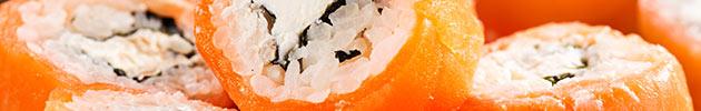 Sake  (envueltos en salmón)