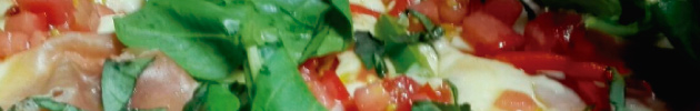 Pizzas al taglio cuadrada (al corte) masa alta
