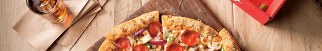 Pizzas especialidades medianas