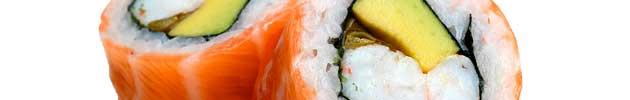 Rolls envueltos en salmón (9 piezas)