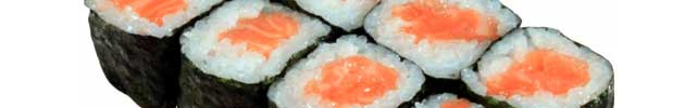 Hosomaki (rollos envueltos en nori) 6 piezas