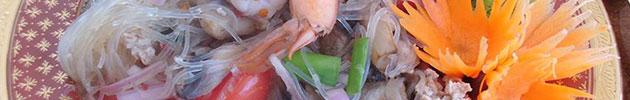 Ensaladas thai