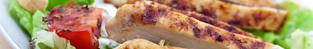 Sándwiches de pechuga de pollo