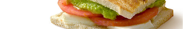 Sándwiches livianos (13 cm)