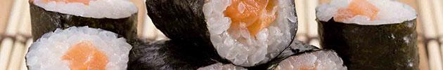 Hosomaki envueltos en nori (10 piezas)